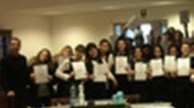 Istituto Stendhal: consegnati diplomi Haccp agli studenti dell'Alberghiero