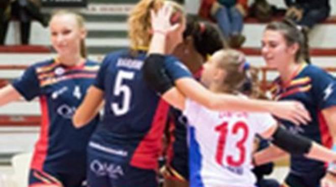 L'Omia Volley sconfitta in casa del Lardini Filottrano