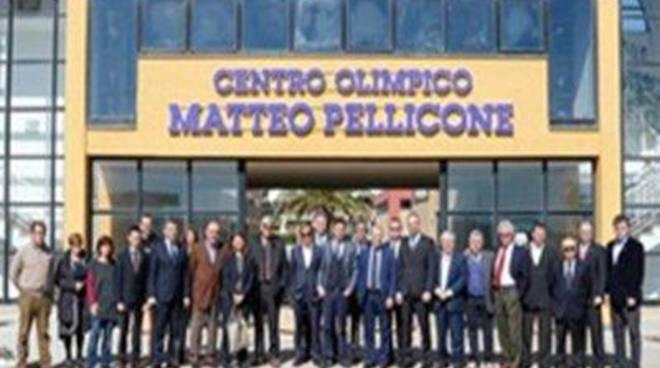 Le Fiamme Gialle alle celebrazioni per il decennale dalle Olimpiadi Invernali di Torino 2006