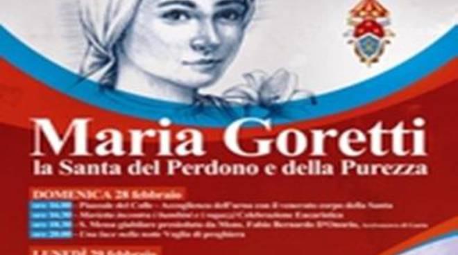 Le reliquie di Santa Maria Goretti a Lenola