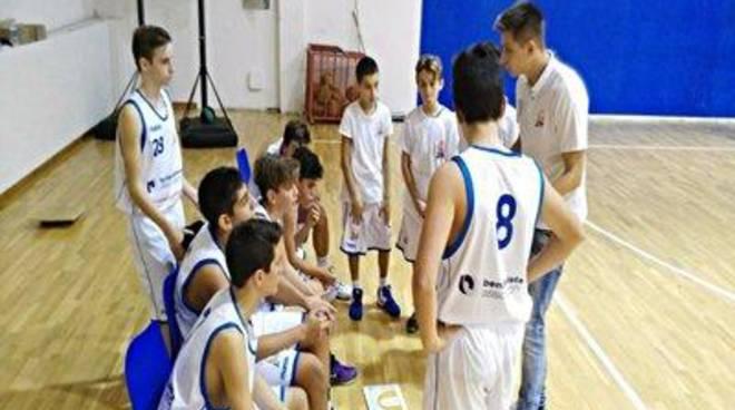 U14: fermati da Blue Master Group Hermada