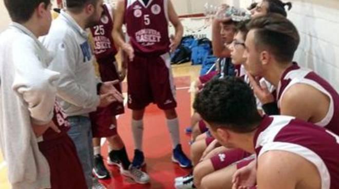 U16 Reg Primavera Bk, Pontinia: stop a Cassino