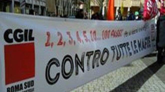 Cgil e Spi Castelli insieme a Libera in ricordo delle vittime delle mafie