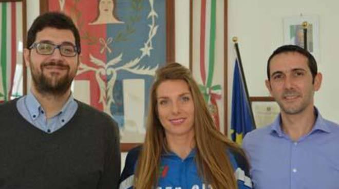 Eccellenze del territorio, il Sindaco incontra la campionessa italiana Ilenia Draisci