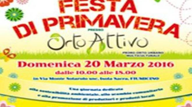 Festa di primavera a Ortoattivo: ecco il programma
