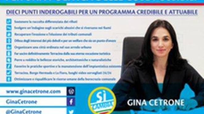 Gina Cetrone: la donna, l'imprenditrice, il politico