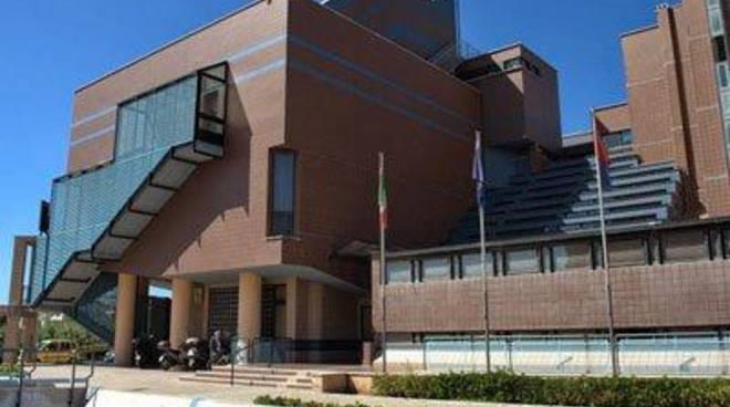 Il Palazzo comunale intitolatoa Domenico Pierlorenzi