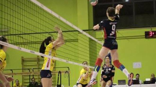 L'Omia Volley Cisterna non riesce a incidere e Trento la supera in tre set