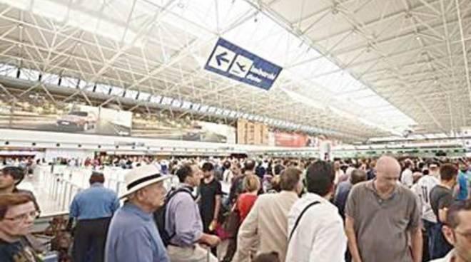 L'aeroporto da Vinci vola. Primo nei passeggeri, secondo nelle merci