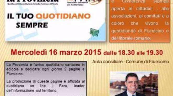 La Provincia e Il Faro on line insieme, oggi la conferenza stampa alle 18,30