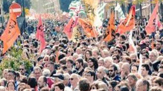 Manifestazione in ricordo delle vittime della mafia