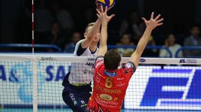 Perugia supera Latina a suon di Ace