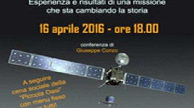 """""""Piccola Oasi"""" presenta la """"La cometa di Rosetta"""""""