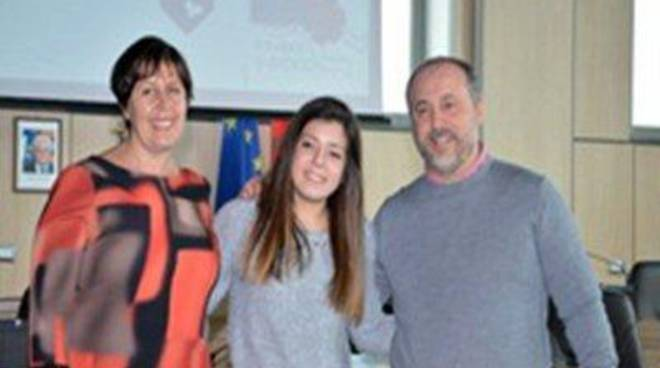 Stop al gioco d'azzardo: premiato il logo della studentessa Alessia Colangeli