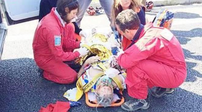 Terribile incidente all'altezza di Castel di Guido. Un morto e due feriti gravi tra i ciclisti