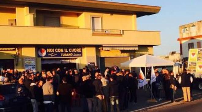 Turano inaugura la sede di Noi Con il Cuore a Padiglioni