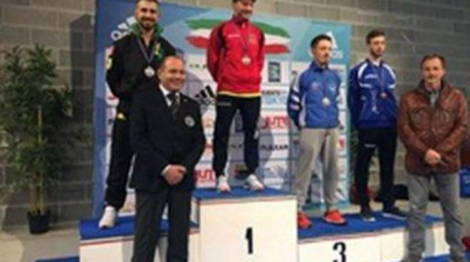 Agli Open Adidas di Riccione, Michele Giuliani conquista l'argento