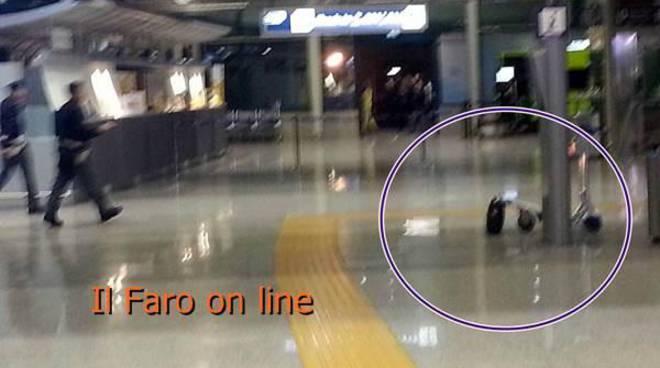 Allarme bomba in aeroporto, evacuata parte del Terminal 3