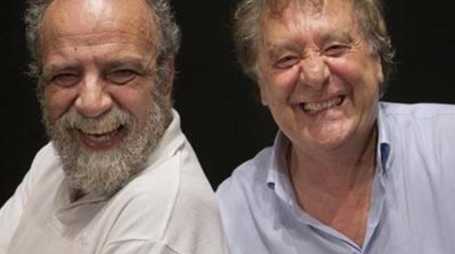 """Covatta e Iacchetti al teatro Lea Padovani con """"Matti da slegare"""""""