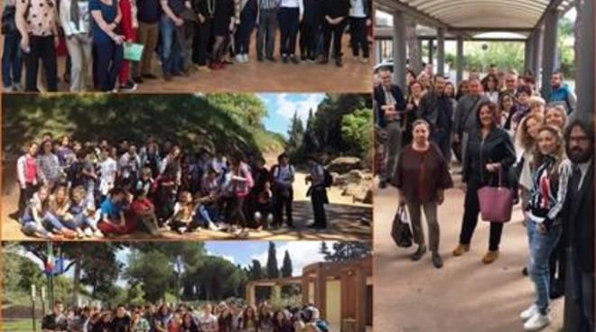 Erasmus Plus, 56 alunni e docenti di 9 Paesi europei ospiti per il programma