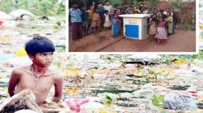 """Farmacisti in aiuto a Tamil Nadu, in India.Costruito il """"pozzo di Guido"""""""
