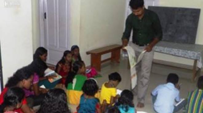 Farmacisti in aiuto: scuola di disegno a Kottoor