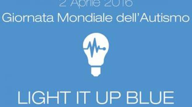 La Città si tinge di blu per la Giornata Internazionale dell'Autismo