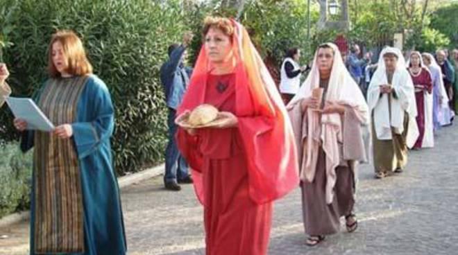 Le donne latine rendono omaggio a Minerva