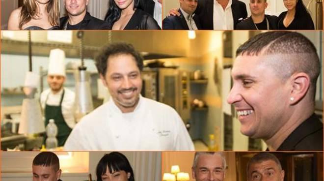 Osmani Garcia ospite di Niko Sinisgalli al ristorante Tazio