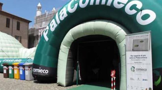 PalaComieco arriva in città: 4 giorni dedicati al riciclo della carta