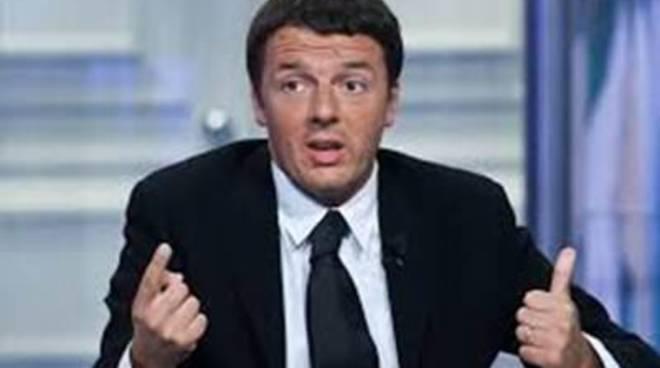 """Renzi su Fiumicino: """"L'aeroporto, opera strategica"""""""