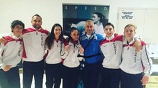 Team Karate Ladispoli, agli Open d'Italia arrivano l'oro e l'argento di Riccardi