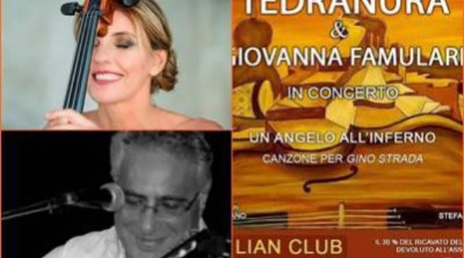 Al Lian Club il concerto-evento dei Tedranura