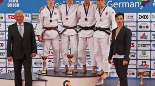 Cadet European Judo Cup, Magnani è bronzo