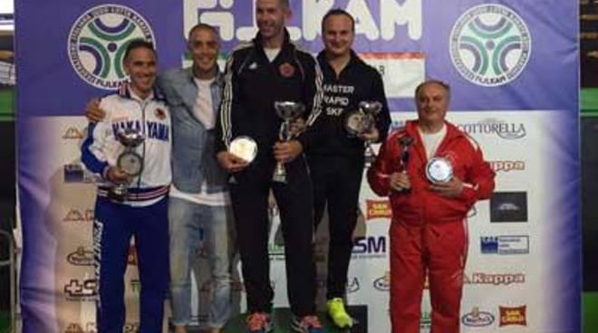 Esordienti B Kumite, Fiamme Oro Roma e Judo Karate Club, le società vincitrici