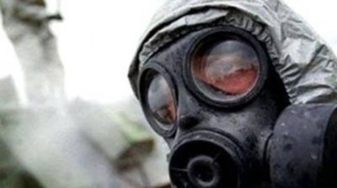 Ieri la manifestazione contro l'inceneritore di armi chimiche