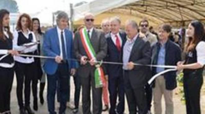 Il Sindaco all'inaugurazione della Mostra Mercato delle Macchine Agricole