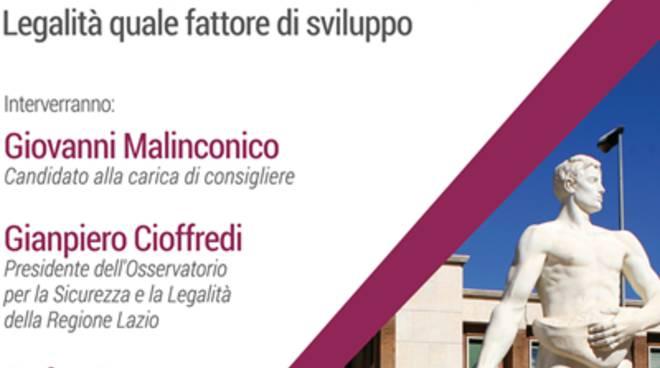 Incontro su legalità e trasparenza con Enrico Forte
