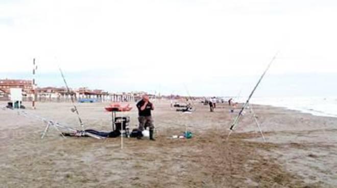 La pesca sportiva invade Passoscuro