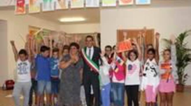 Nuova palestra coperta nella scuola media di Santa Palomba
