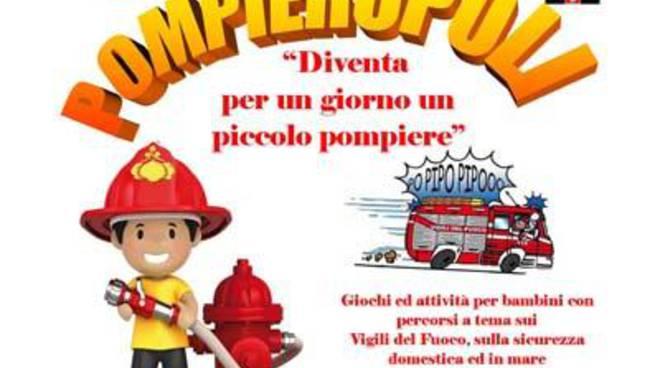"""""""Pompieropoli"""": Diventa per un giorno un piccolo pompiere"""