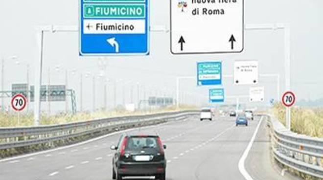 Primi lampioni, torna la luce sulla Roma-Fiumicino