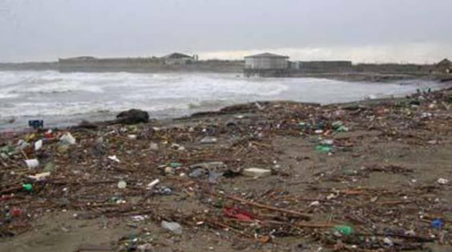 Rifiuti trasportati dal Tevere: spiagge sporche, serve il sostegno Regione