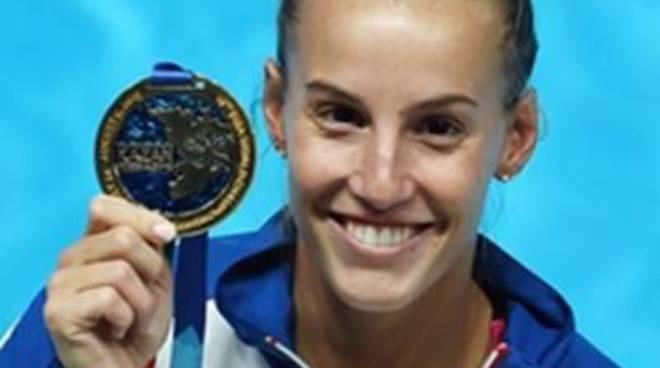 Tania Cagnotto, felice per le medaglie europee, con il sogno di vincere Rio 2016
