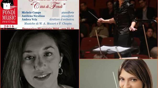 """Tre stelle della musica classica al """"Fondi Music Festival"""""""