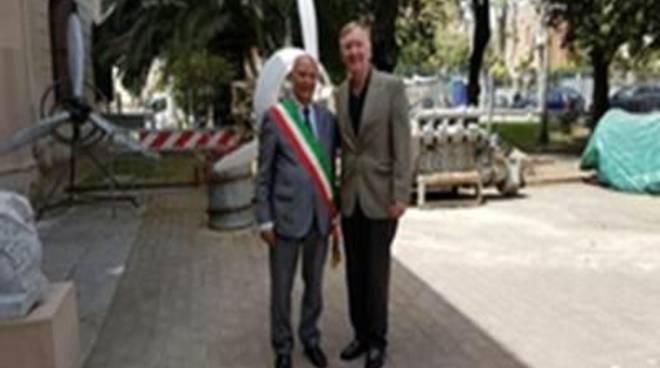 """Zucchini: """"Siamo onorati della visita del Comandante Foggo"""""""