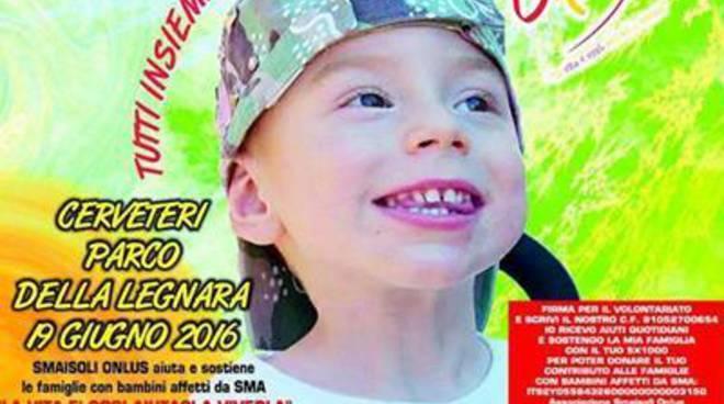 Atrofia Muscolare Spinale,un grande evento benefico per sostenere le Famiglie