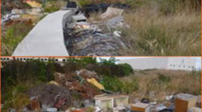 """Discarica di rifiuti nella zona industriale. Fare Verde: """"Bonificare l'area"""""""
