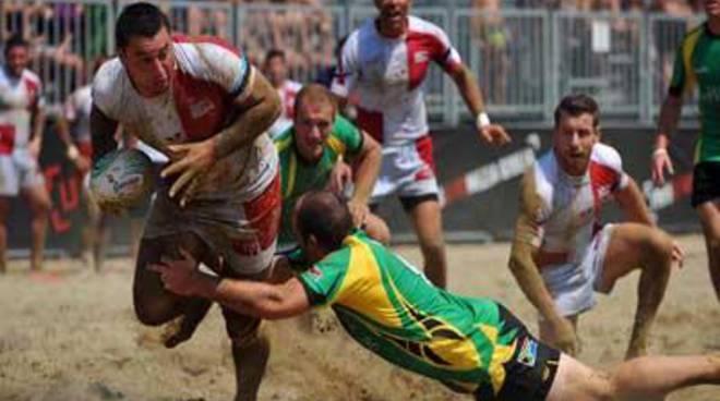Il campionato italiano di Beach Rugby a Fregene