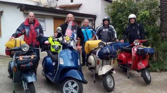 Il Vespa Club rientra dal raduno mondiale di Saint Tropez